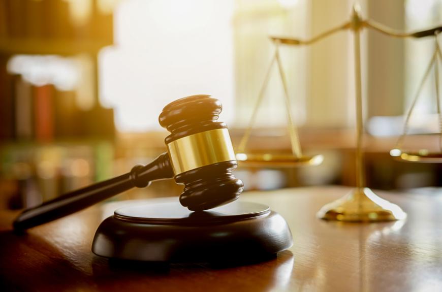 A judge's gavel.